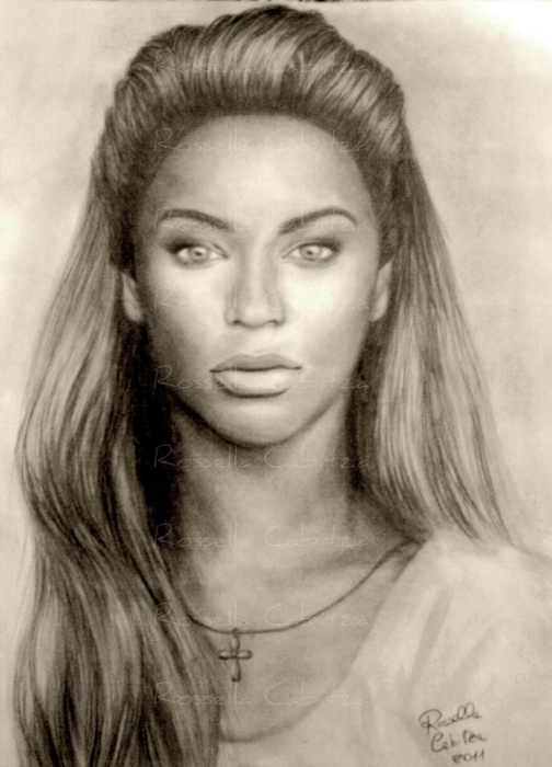 Beyonce by rossella